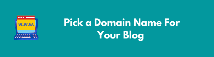 pick a domain name